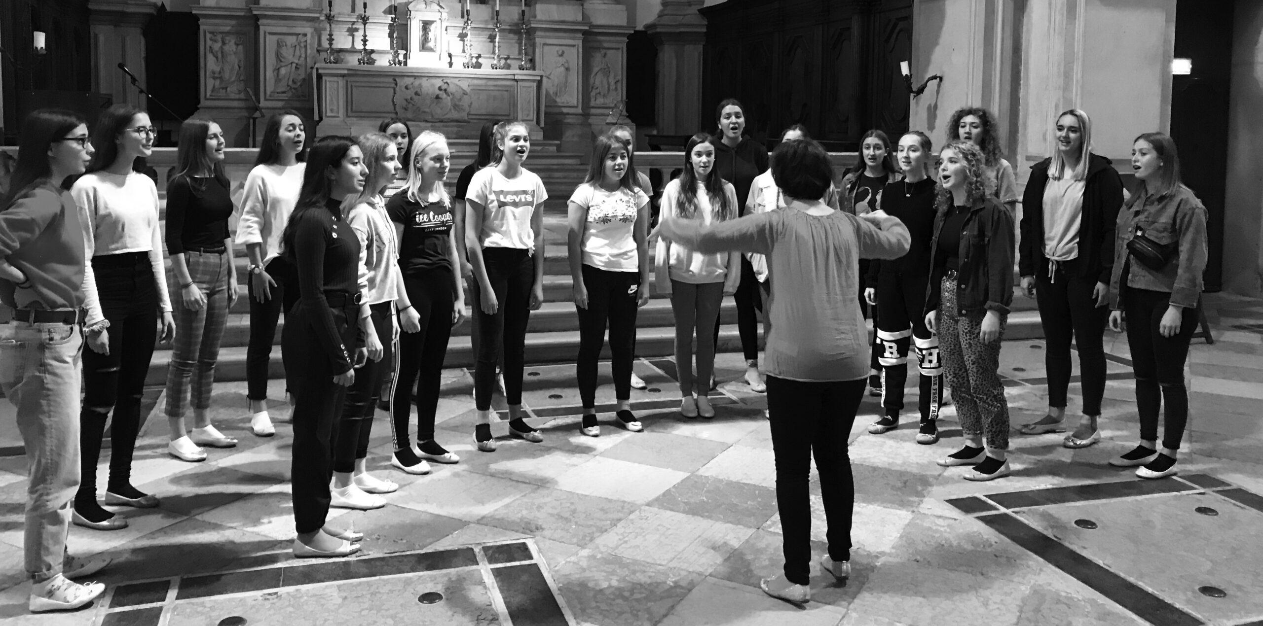 Rehearse in Venice